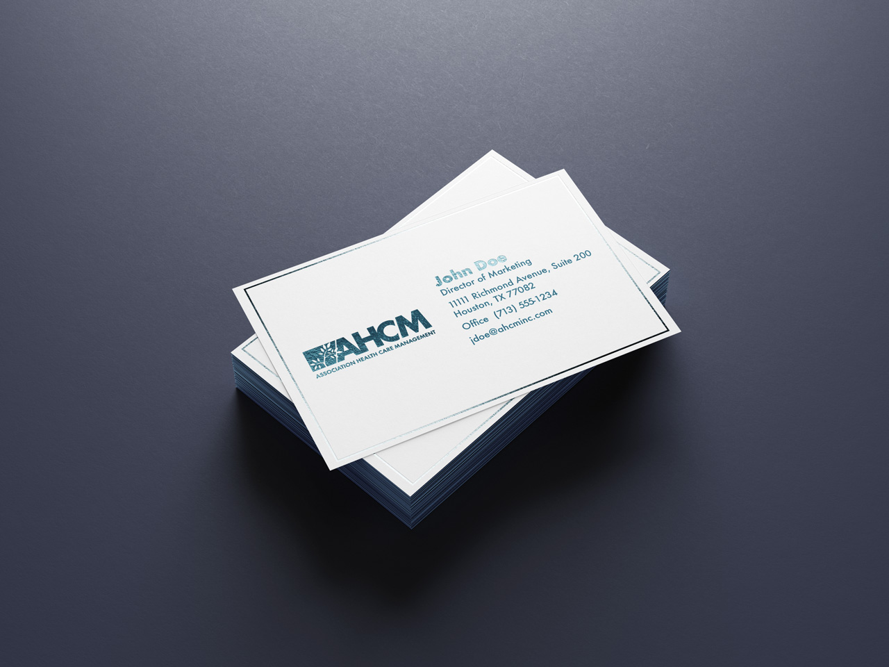 project ahcm business card 1