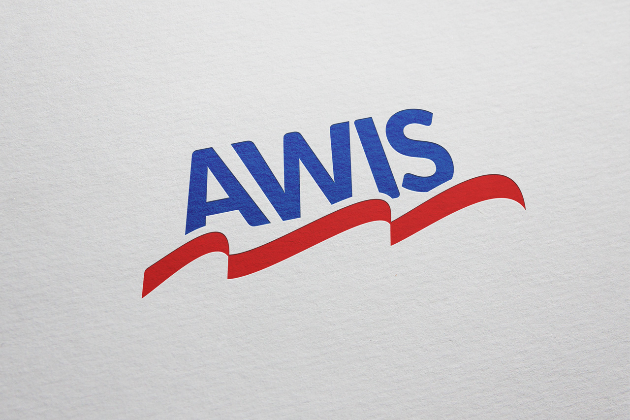project awis logo on paper