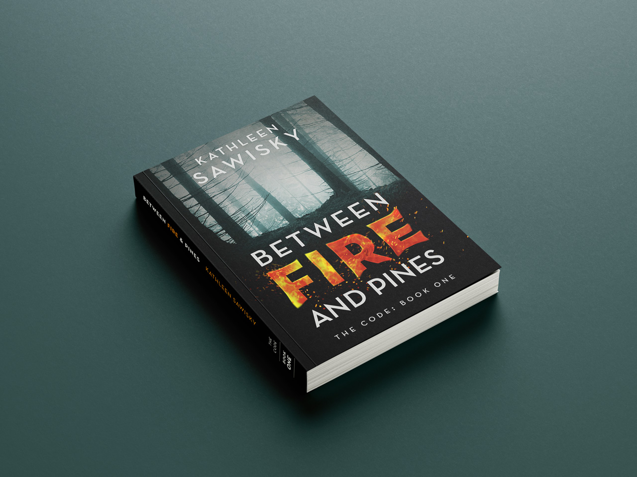 project book covers between fire and pines cover