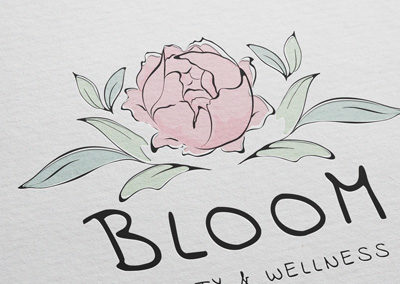 Bloom Beauty & Wellness Logo