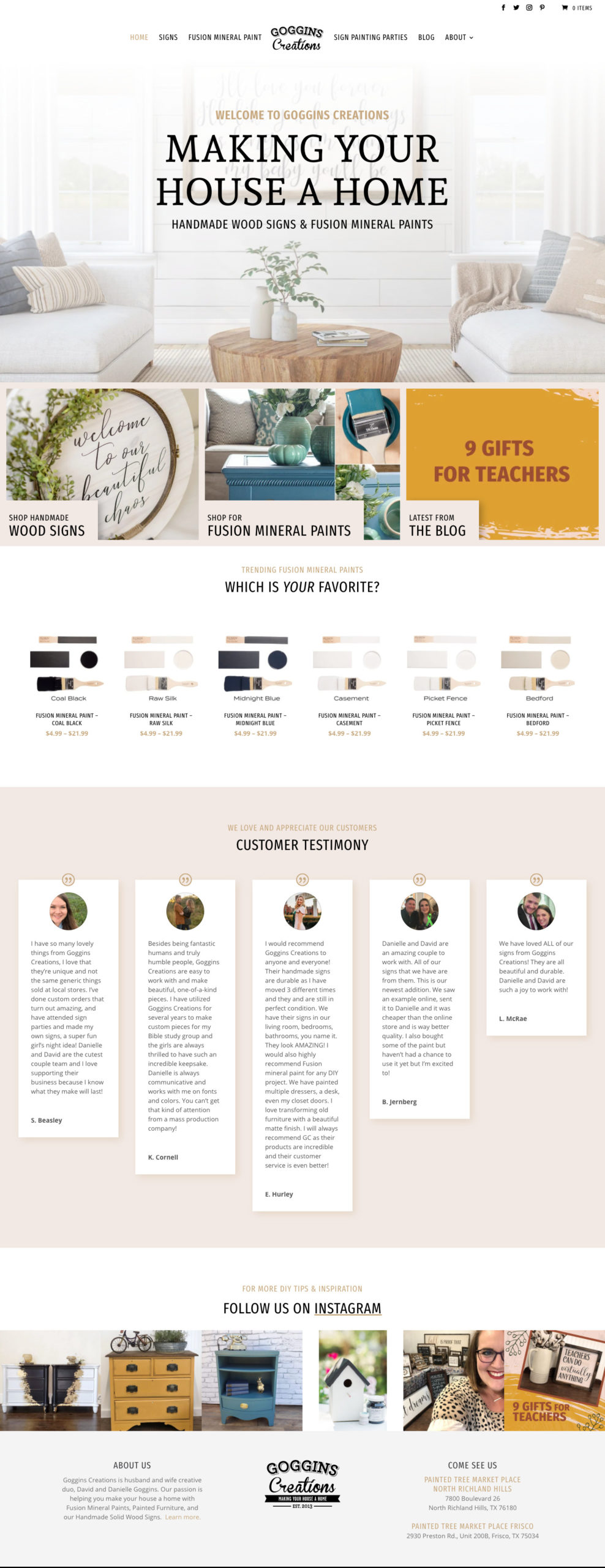 project gogginscreations website scaled
