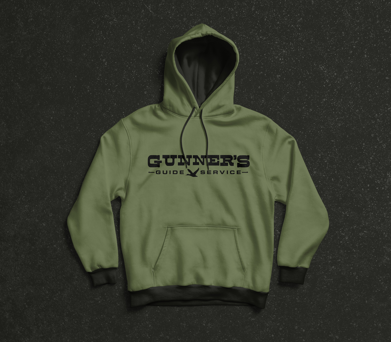 project gunners guide service logo hoodie