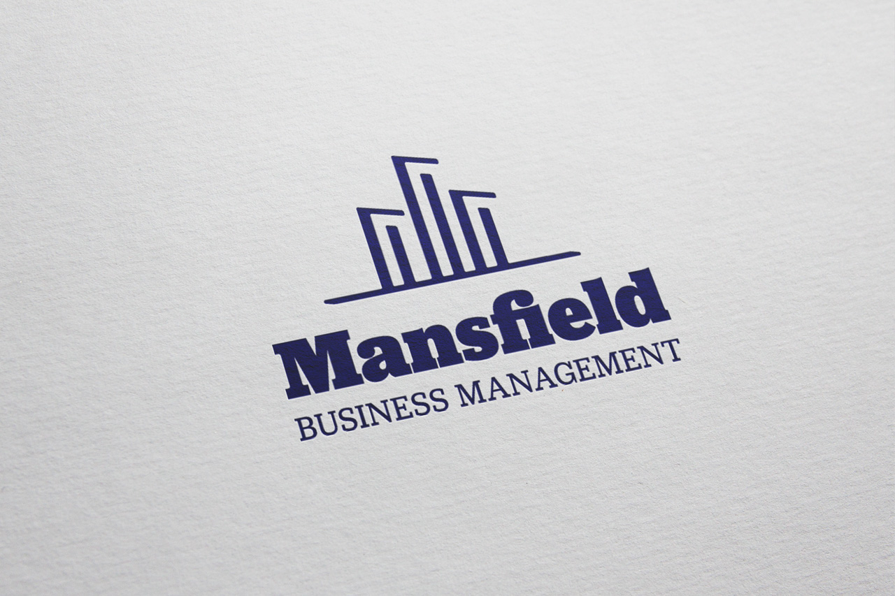 project mansfield logo on paper